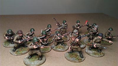 15 x 28mm Warlord Games / Black Tree Bolt Action WW2 Soviet / Russian Infantry 2
