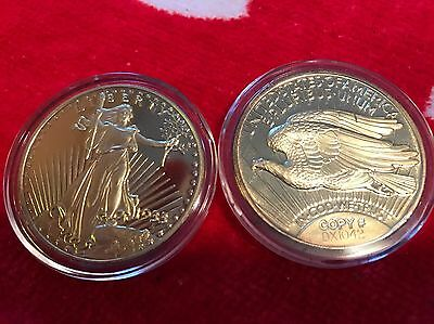 1933 GOLD DOUBLE EAGLE PROOF National Collectors Mint IN PLASTIC CASE