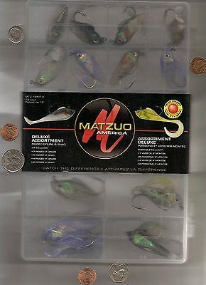 Hand Made Fishing Lures Matzuo Rigged Grubs And Shad!  Well Made!! Never Opened!