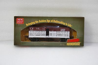 Mdc/roundhouse Ho Rtr 36' Stock Car  Canadian National Rd #151176