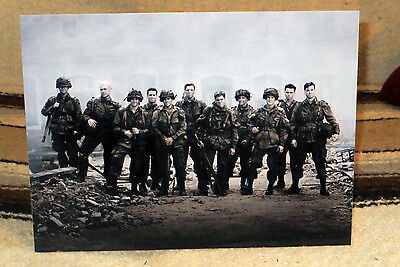 """""""Band of Brothers"""" World War 2 TV Series Tabletop Standee 10 3/4"""" X 8"""""""