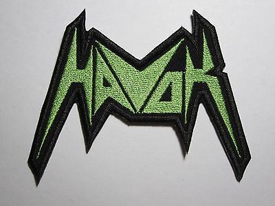 HAVOK logo embroidered NEW patch thrash metal