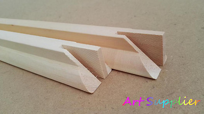 Canvas Stretcher Bars, Canvas Frames, Scots Pine Wood 38mm, sold by Paires