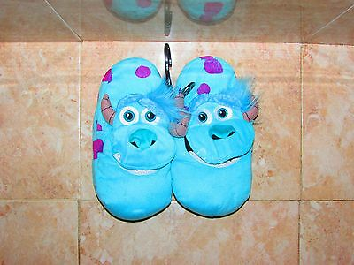 Disney/pixars Monsters University Sully Slippers By Stompeez Size M