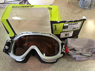 Scott No Fog Winter Sport Goggles Skiing Snowmobile