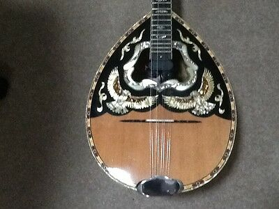 Bouzouki 8 String Custom Made with Case and Active B Voice Pick Up
