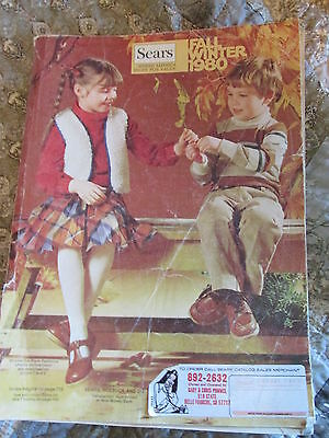 SEARS 1980 Fall Winter Catalog  Department Store Vintage Styles Retro Ads