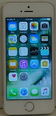 Nice Apple iPhone 5s 16GB Silver and White Fido Smartphone Mobile 02