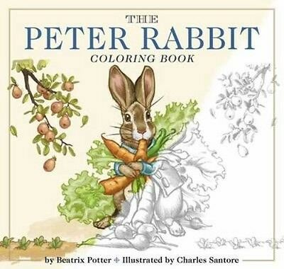 The Peter Rabbit Coloring Book: A Classic Editions Coloring Book by Beatrix Pott