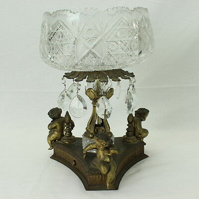 Victorian Crystal Compote Bowl