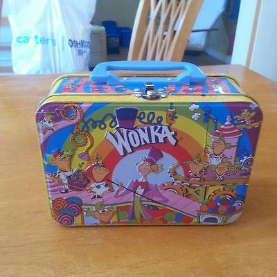 Willy Wonka Collectible Metal Lunch Box  Vintage