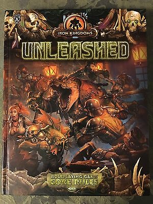 IRON KINGDOMS UNLEASHED RPG Core Rule book