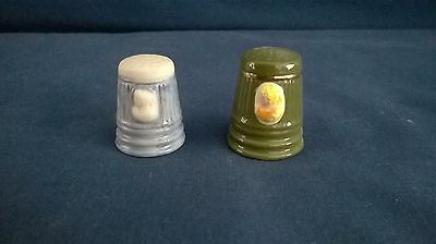 Cameo Design Thimbles Set of 2