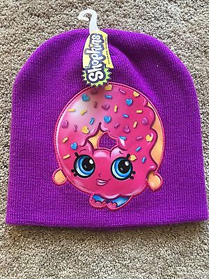 Shopkins Girls Beanie One Size Fits Most Cap New Nwt Free Shipping