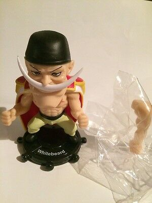 One Piece Whitebeard Figure Anime - Changeable Arm Posed Design Toy