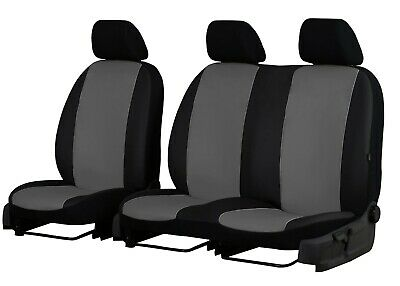 ECO LEATHER VAN UNIVERSAL SEAT COVERS for MERCEDES BENZ SPRINTER 2 + 1