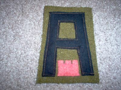 WWI US Army patch First 1st Army Engineers Patch AEF