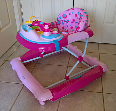 Babyhood Baby Walker - Pink