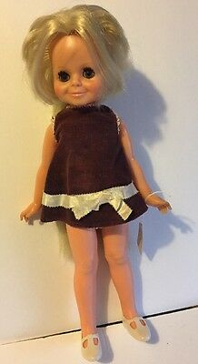 Vintage Ideal Toy Corp, Crissy Sister Velvet, C1969 Hair Growing Doll