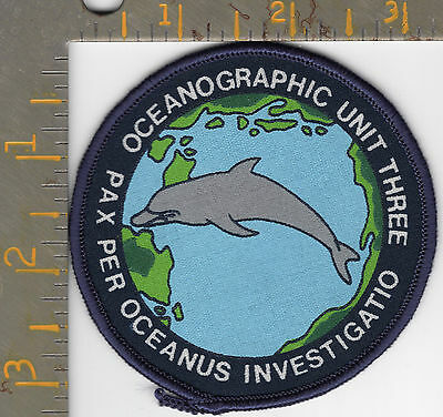 Old Silkscreen Federal NOAA Marine Fisheries Ocean Research Oceanographic Patch