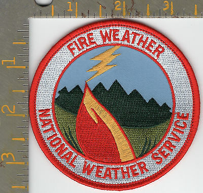 Dept Commerce NOAA National Weather Service Federal Patch Wildfire Storm Watch