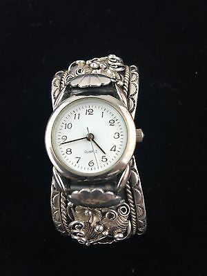 Watch, Sterling Silver 925 Handmade Handcrafted
