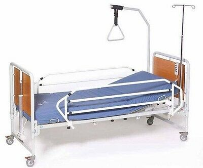Hospital Bed plus Pressure Care Mattress plus Hospital Table