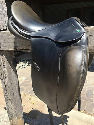 "Sterling Dressage Saddle 17"" MED"