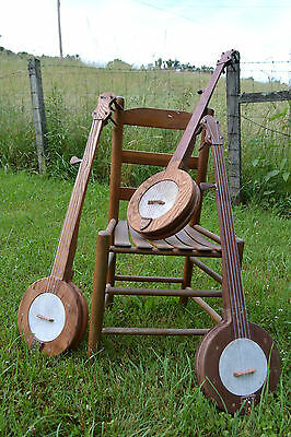Custom Made Fretless Mountain Banjo