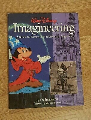 Walt Disney Imagineering Book VERY RARE AND COLLECTABLE