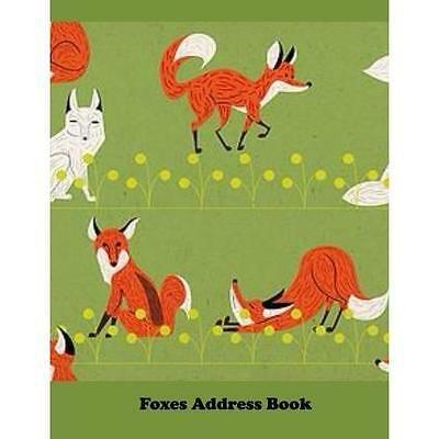 FREE 2 DAY SHIPPING: Foxes Address Book: Large Print (Paperback)