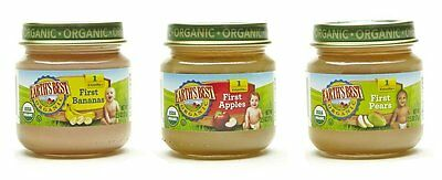 Earths Best Organic Stage 1, My First Fruits Variety Pack, 12 Count, 2.5 Ounce