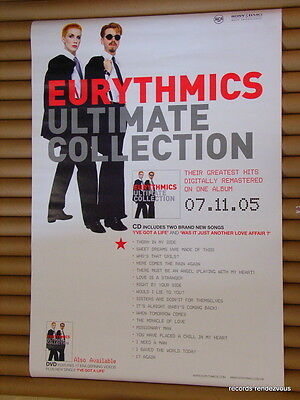 Eurythmics RARE 2005 Hong Kong Promo Poster [20x30] Official Ultimate Collection