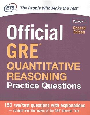 Official Gre Quantitative Reasoning Practice Questions by Educational Testing Se