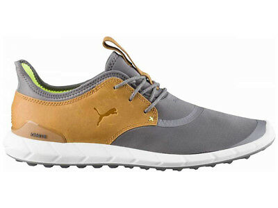 Puma Ignite Spikeless Sport Golf Shoes - Smoked Pearl/Spice
