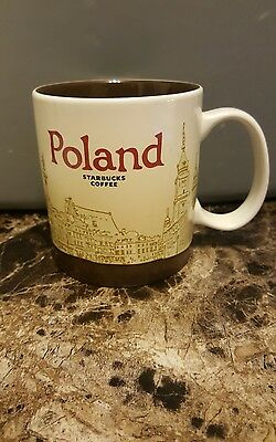 Starbucks 2014 Original Poland Coffee Mug Global Icon Series New SKU