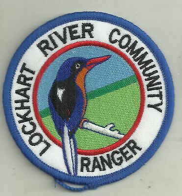 Obsolete Lockhart River Community Aboriginal Ranger Qld  Police Patch Not Badge