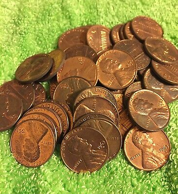 1963-D 1C Lincoln Cent Roll Uncirculated