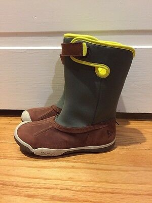 New Plae Thandi Waterproof Rain Boots Shoes Toddler Kids 13