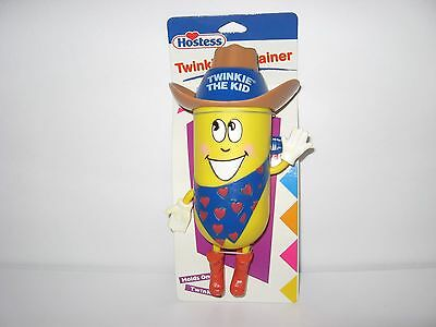 NEW Hostess Twinkie the Kid Container Holds One Twinkie Cute Collectible