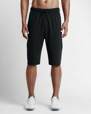New Nike Fleece Training Shorts Dri-Fit 742214 010 $60.00