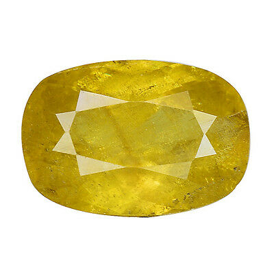 2.120 Cts Gorgeous Amazing Yellow Natural Sphene Oval Loose Gemstones
