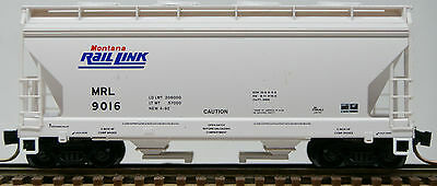 N Scale Micro Trains 2-Bay ACF Covered Hopper in Montana Rail Link Road