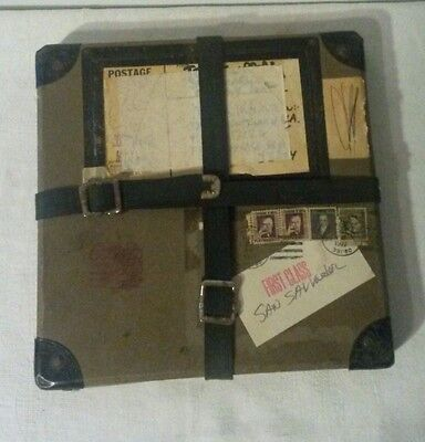 Vintage Movie Film Reel & Shipping Container Case