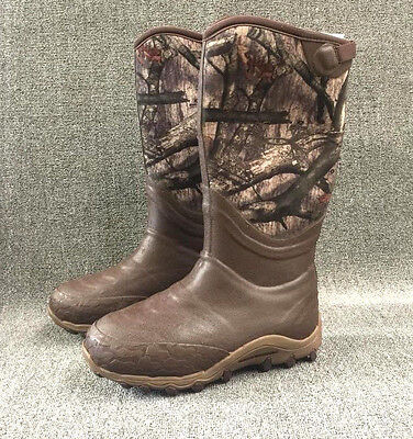 SIZE 10 Under Armour Men's HAW 800gm insulated Hunting Boots neoprene mossy oak