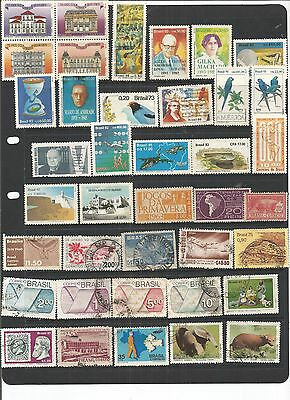 Brazil 39 Mint & Used Stamps.  See Scan