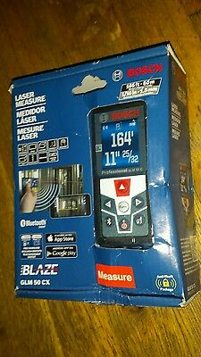 bosch GLM 50 CX 165ft laser measure with bluetooth and full color display NIB