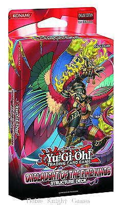 Konami YGO Deck Onslaught of the Fire King Structure Deck CCG MINT