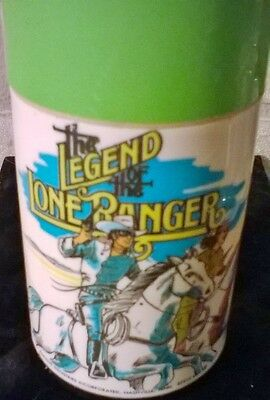 THE LEGEND OF THE LONE RANGER Aladdin Thermos-1980