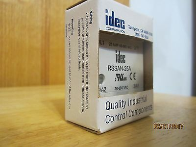 IDEC RSSAN-25A Solid State Relay New in Box